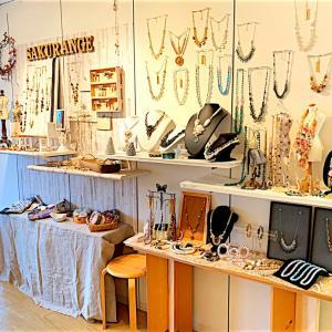 【Beads Art 展】ワークショップ搬入してまいりました!& 楽天市場出店のお知らせです。