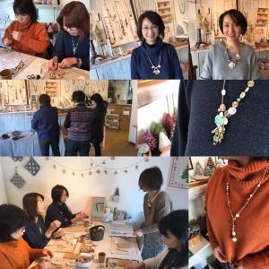 【Beads Art 展】3日目 レポを頂きました!
