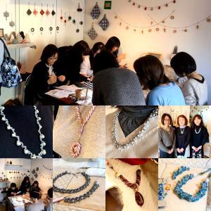 【Beads Art 展】4日目 楽しいビーズの交流をありがとうございました!