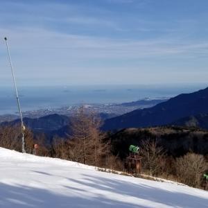 2019~2020シーズン滑走日数7日目、石鎚スキー場でパトロール業務してきました