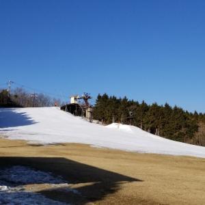 2019~2020シーズン滑走日数15日目、石鎚スキー場へ