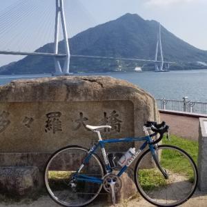 秋分の日は大三島~生口島~因島~岩城島サイクリング