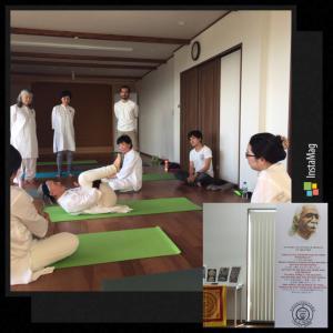 ヨーガの専修大学日本校の学びを終えました
