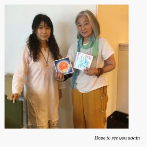 曼荼羅アート講座に参加しました