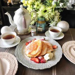 Today's Tea Time♪ メレンゲパンケーキ
