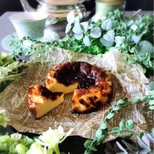 Today's Tea Time♪ No.52 ピザチーズで作るバスクチーズケーキ