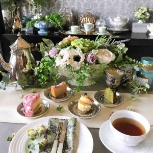 AfternoonTea at Home 残り物で寄せ集めて