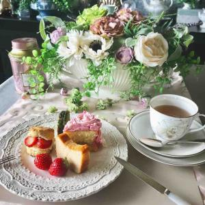 AfternoonTea at Home コーディネートを変えて