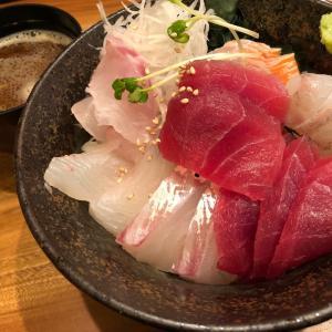久々の海鮮丼
