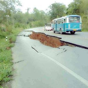 チェンライの地震被害
