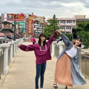 チェンマイに来ていた乃木坂46の齋藤飛鳥と堀未央奈