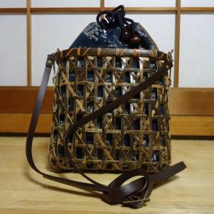 黒竹のショルダーバッグ