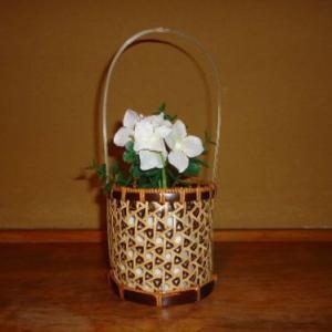 差し六つ目の花籠