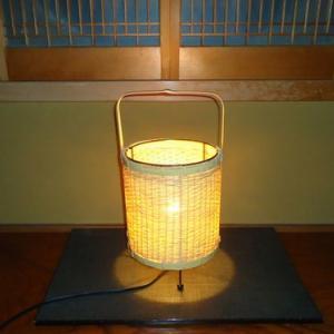 松葉編みの行灯