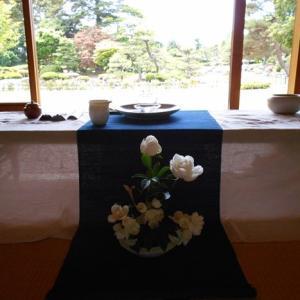 花香ブレンドの茶席