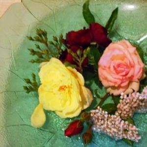 7月の薔薇茶席