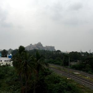 【南インド】その⑥~ ティルチラパッリのインド最大級寺院と、ロックフォートからの絶景