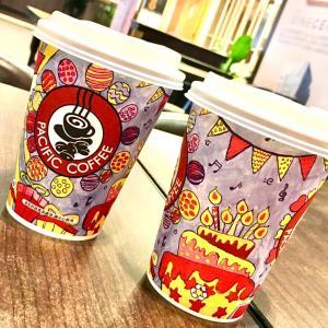 本日限定の周年スペシャル♪~Pacific Coffee