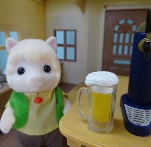 ビールサーバー。
