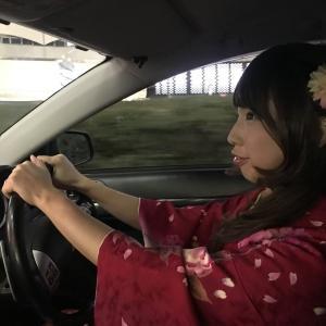 【女装ドライブ】 着物で運転する場合は?!