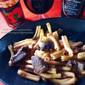 本格的イタリアレストランの味 官能の牛ほほ肉ミートソース