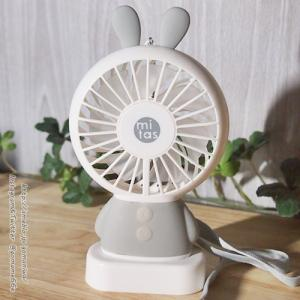 思ったより涼しかった♪ #ハンディ扇風機 #ハンディファン
