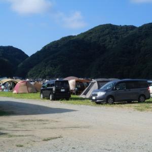 【キャンプ下見】 気比の浜キャンプ場(兵庫県豊岡市) 2019富山うまいもんツアー1日目(3)