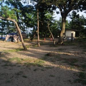 【キャンプ】 雨晴キャンプ場(高岡市) 2019富山うまいもんツアー5日目(5)