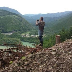 7月21日 笹間川ダム南岸から八高山林道 予告