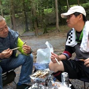 8月25日 県民の森キャンプツーリング その2