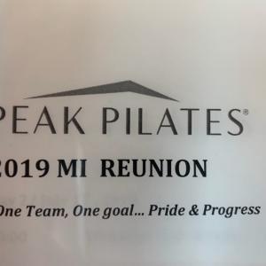 peak pilates マスターインストラクタートレーニング
