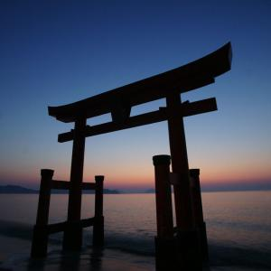 続・大島の朝日