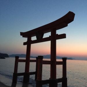 大島の日の出
