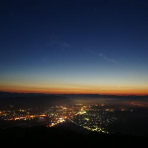三次市高谷山の雲海