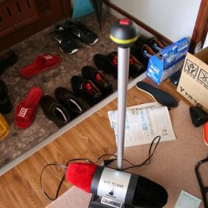コロンブス 自動靴磨き機 オートポリッシャーUC-989Pレビュー