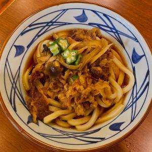 讃岐釜揚げうどん 丸亀製麺 尼崎大物店の牛肉盛りうどん&ざるうどん&親子丼&かしわ天とさつまいも天