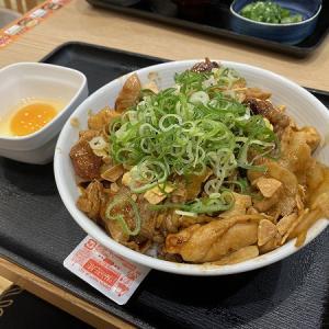 吉野家 寝屋川昭栄町店のスタミナ超特盛丼&牛皿麦とろ御膳