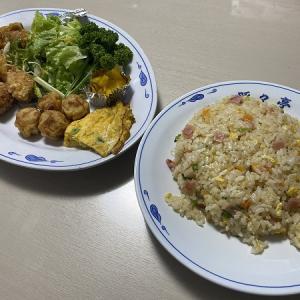 北京料理 豚々亭 茨木店の唐揚げ定食