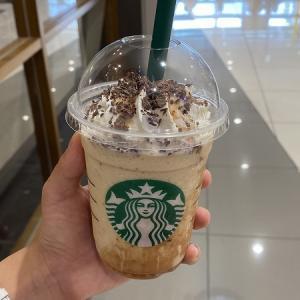 スターバックスコーヒー イオンモール四條畷店のチョコレート マロンフラペチーノ