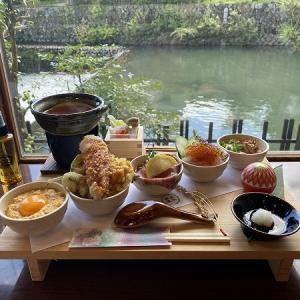 五木茶屋 嵐山の京丼食べ比べ膳