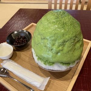 茶三楽(チャサンラク) 嵐山の抹茶エスプーマかき氷