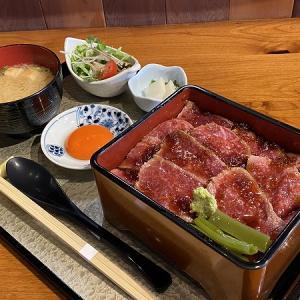 創作和食Dining 朔楽 sakuraの黒毛和牛ステーキ重御膳