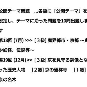 京都検定のテーマ