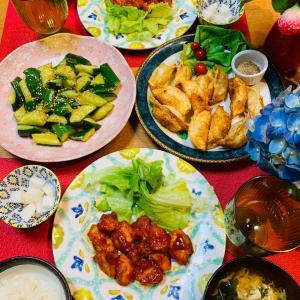 米粉と鶏胸肉で作るヤンニョムチキン風