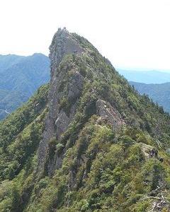 8回目の石鎚山登山