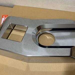 タダノ GL160  フォグカバーにクロームメッキしました