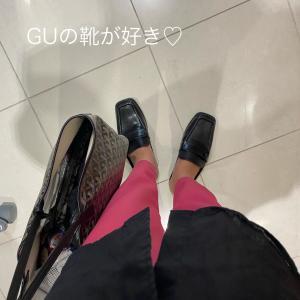 GUの靴が好き!お値下げ中〜