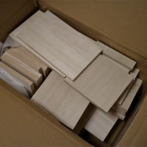 木材を通販してみる、DIYで棚にピッタリの収納箱を作ろう