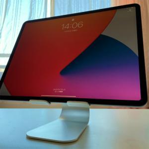 タブレットスタンドとspacedesk・duetでiPad PROをサブディスプレイ化する