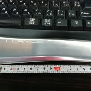 アルミクランクで160mm